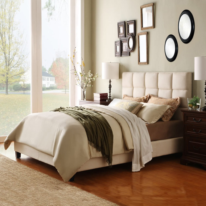 Featured Image of Contemporary Fabric Bedroom