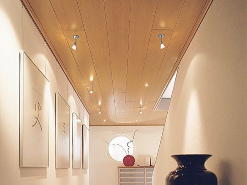 Featured Image of Contemporary Glow Wood Ceiling Design