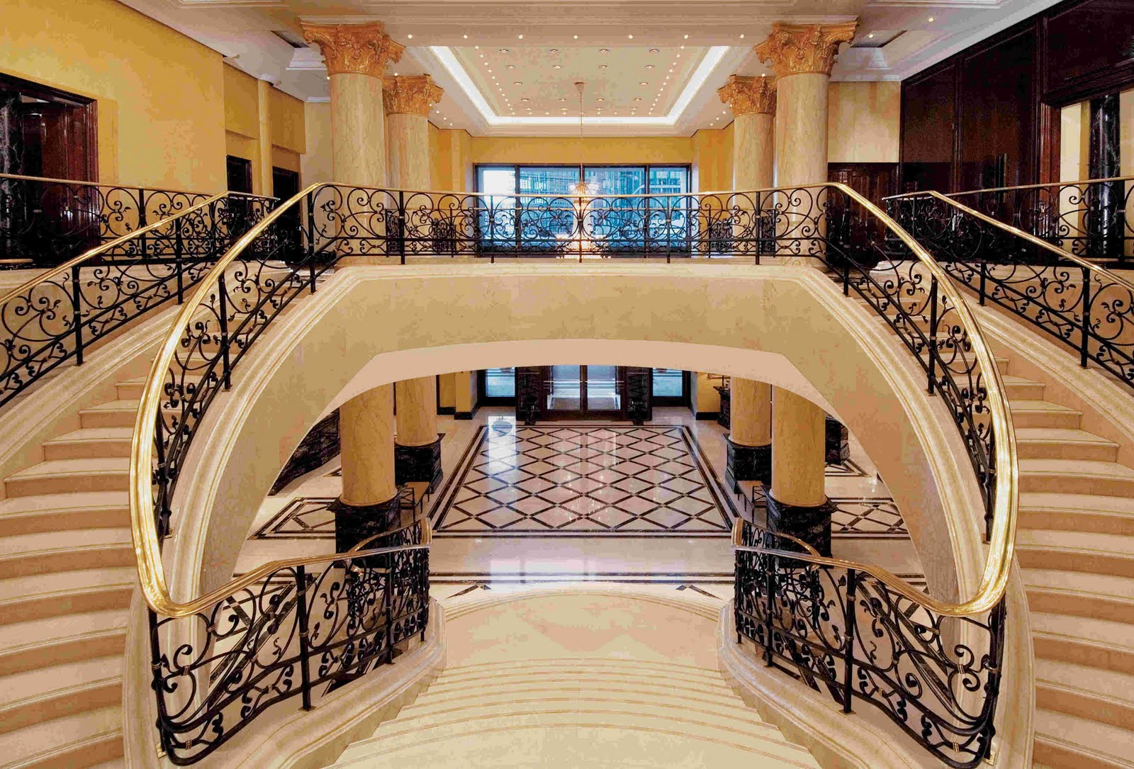 Featured Image of Double Victorian Staircase Luxury Design