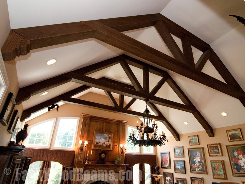 Featured Image of Faux Wood Beam Ceiling Design Ideas