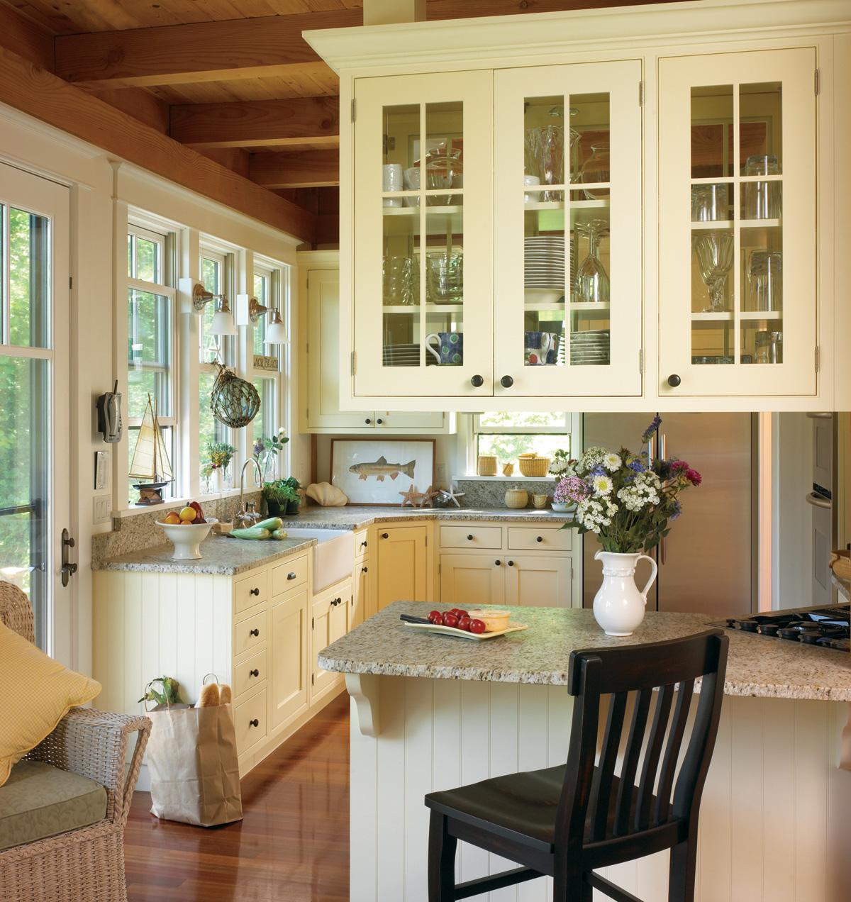 Gorgeous traditional american kitchen remodel 3104 for American kitchen designs