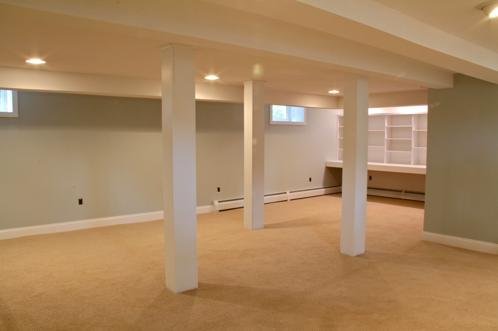 Featured Image of Modern Basement Ceiling Renovation