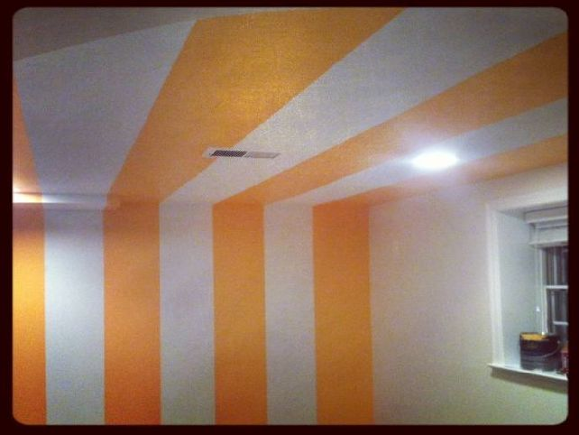 Featured Image of Modern Basement Ceiling Tile And Paint Color