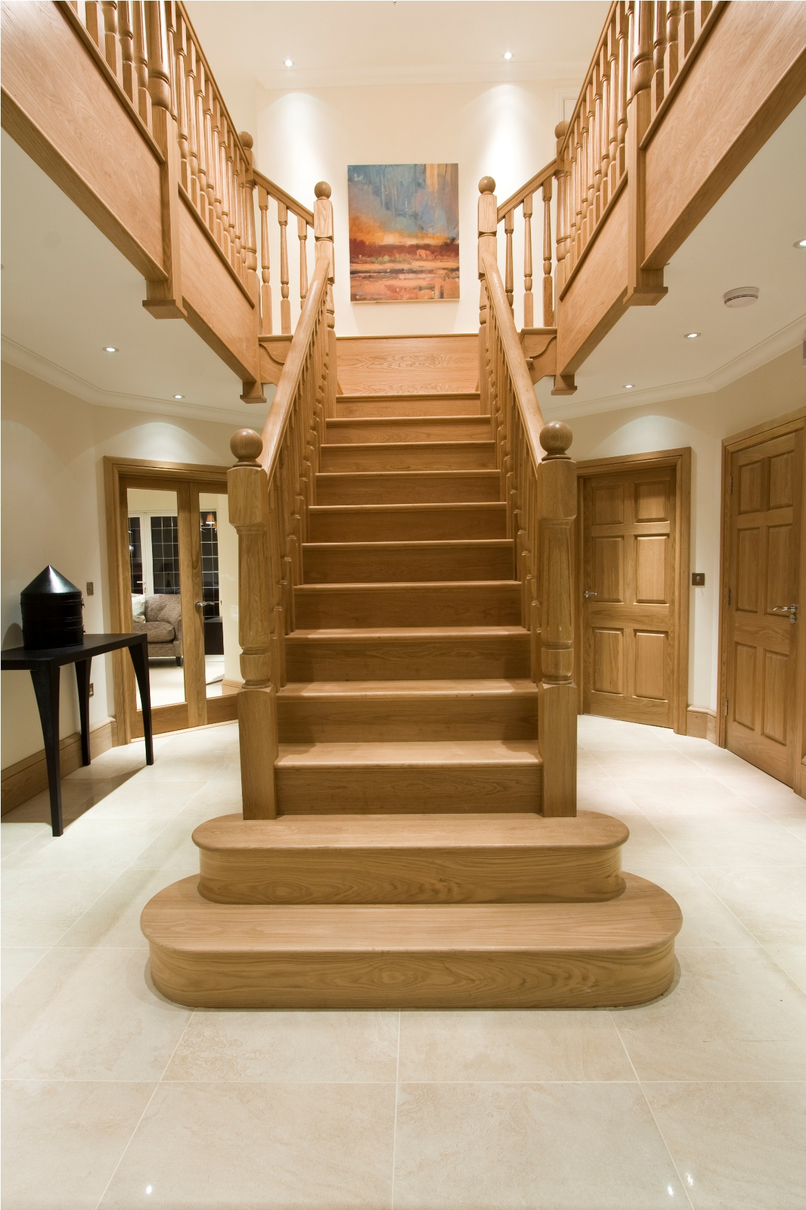 Modern Center Staircase Design 2846 House Decoration Ideas