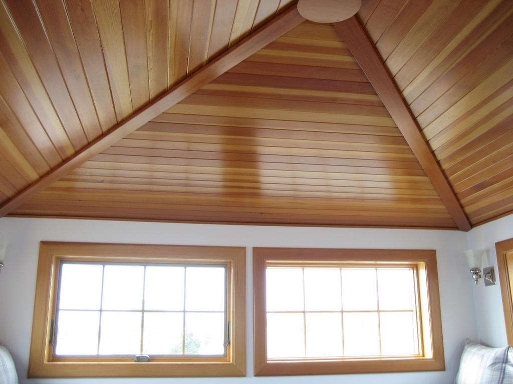 Featured Image of Modern Wooden Ceiling Material For Living Room