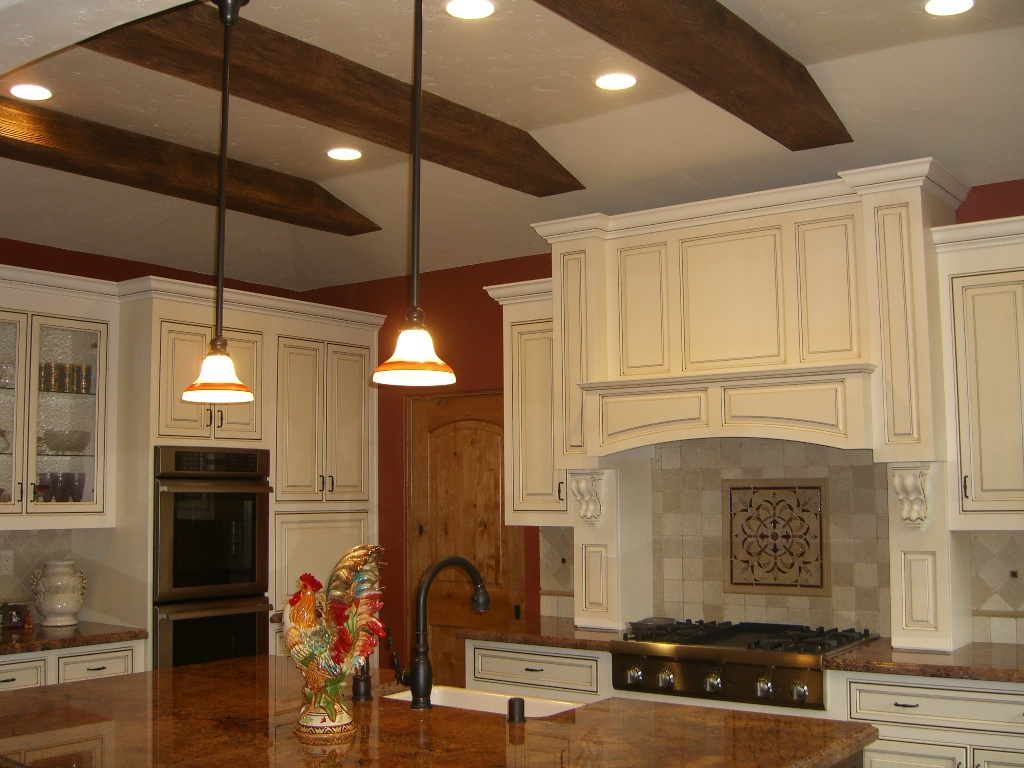 Featured Image of Wooden Kitchen Ceiling Design