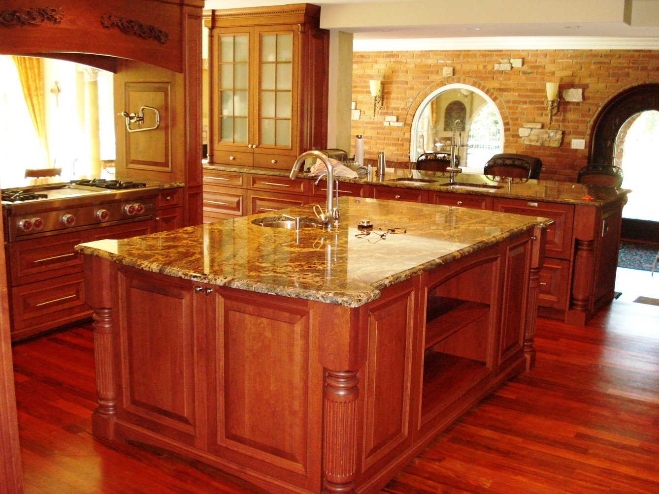 Featured Image of Wooden Kitchen Furniture For Country Kitchen Style