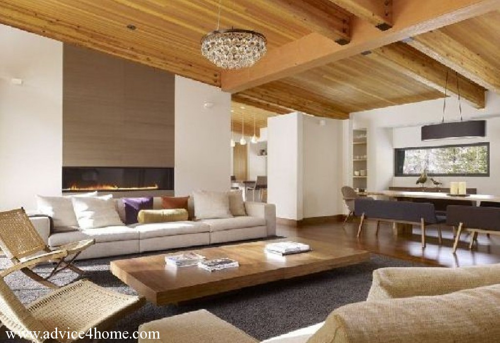 Featured Image of Wooden Materials For Living Room Ceiling