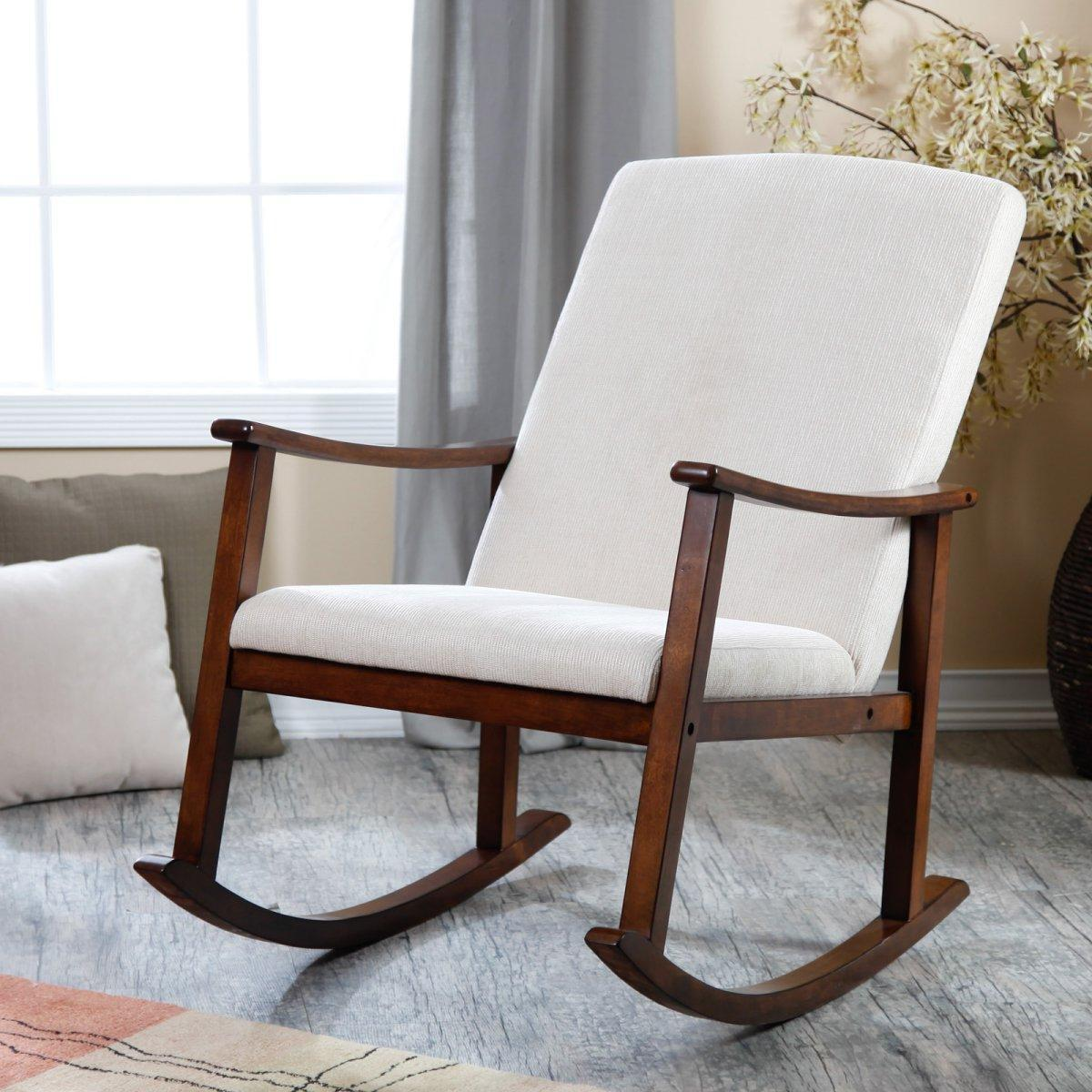 Comfortable Kids Rocking Chair (Image 1 of 5)