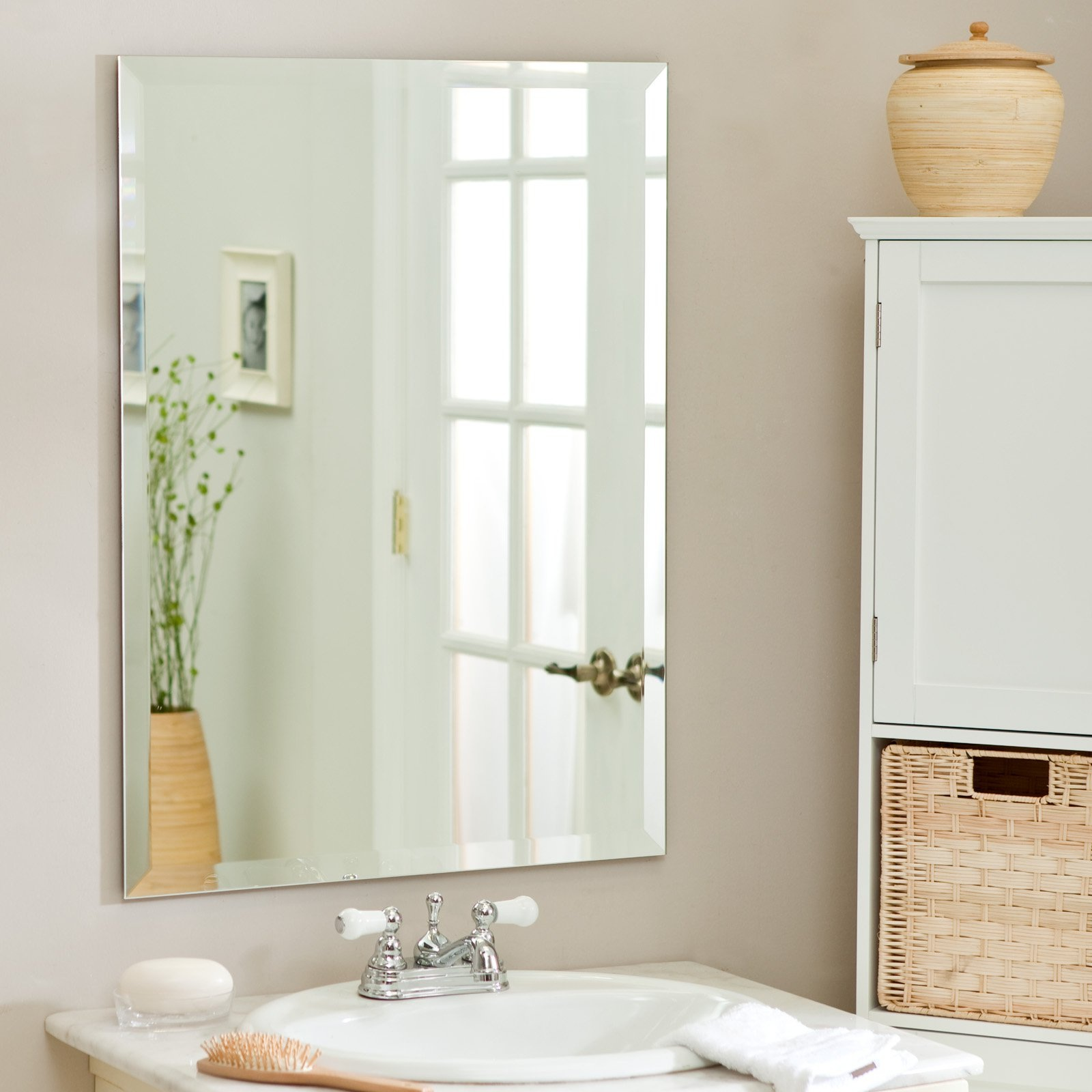 DIY Minimalist Bathroom Mirror (Image 3 of 6)