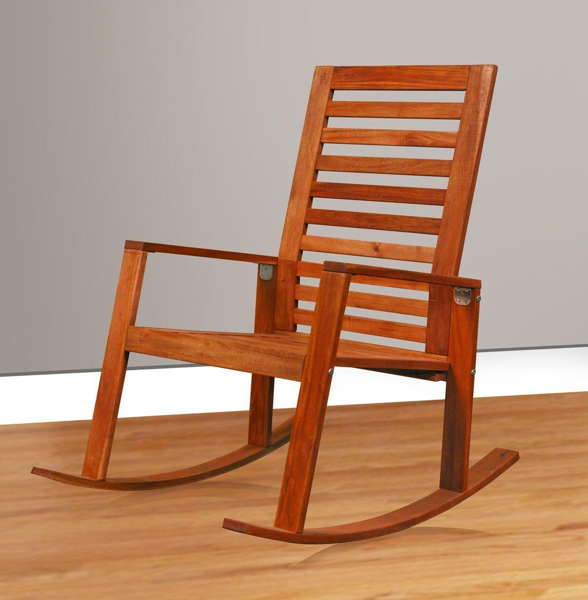 Hardwood Kids Rocking Chair For Sale (Image 3 of 5)