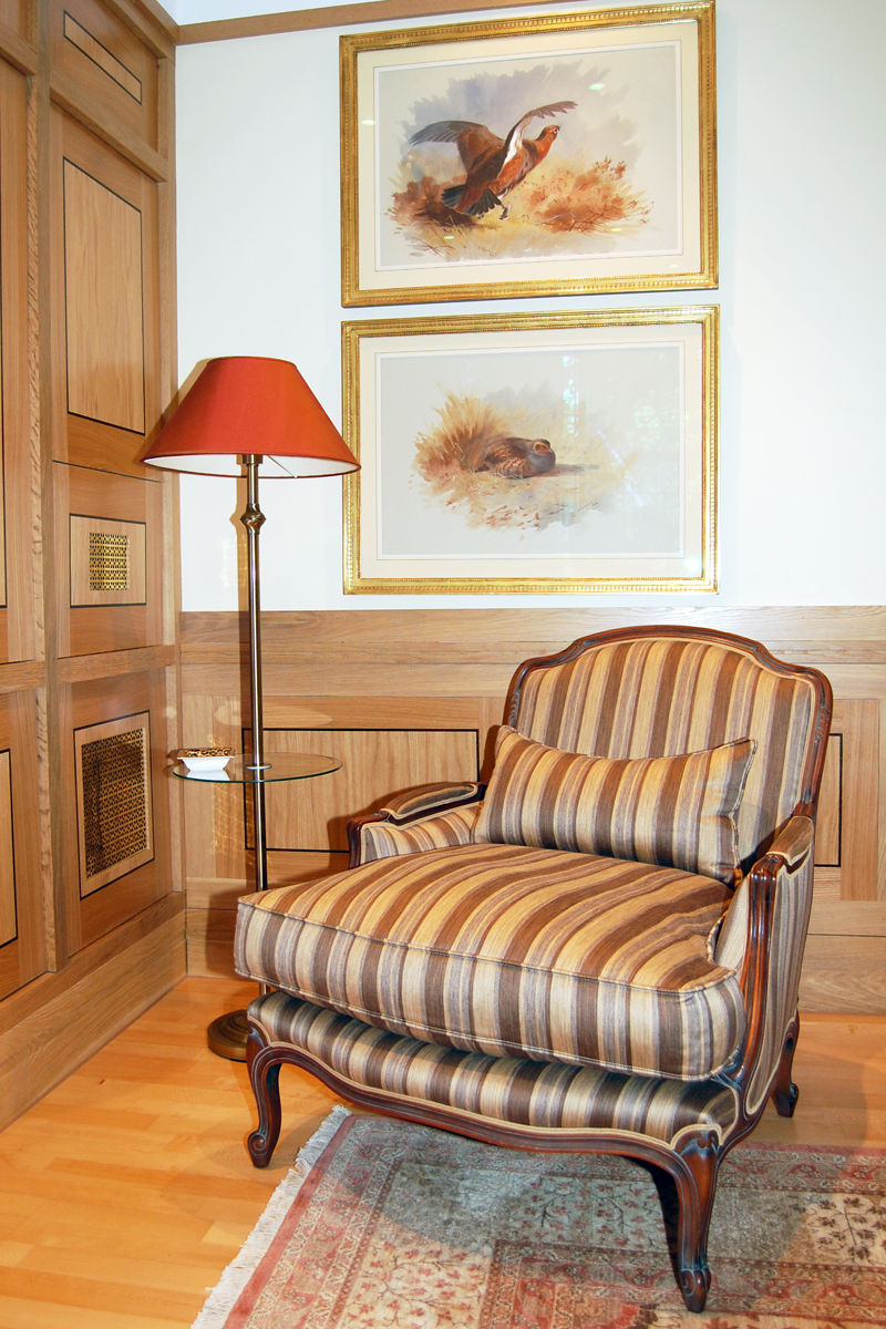 Best Bergere Chair For Living Room (Image 4 of 7)