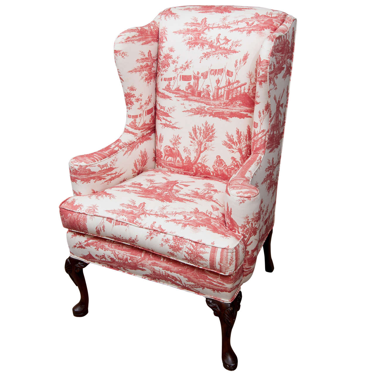 Lovely Queen Anne Chair And The Antique Sense Of It #3288 | Furniture Ideas TJ92