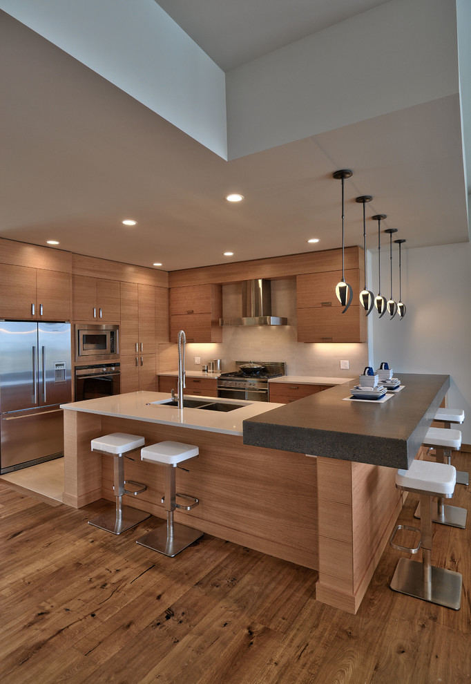 Modern Contemporary Kitchen Interior (Image 11 of 12)