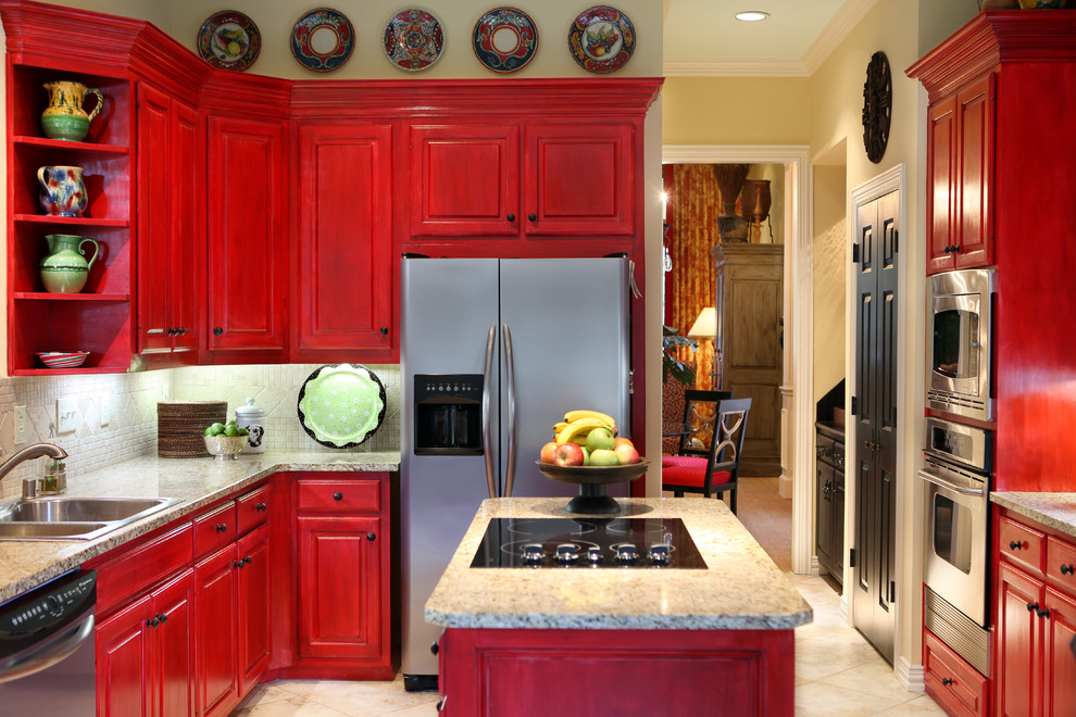 Traditional Wooden Kitchen Cupboards (Image 16 of 20)