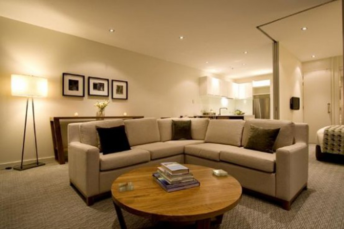 Featured Image of Beauty And Elegant Apartment Interior Lighting And Furniture