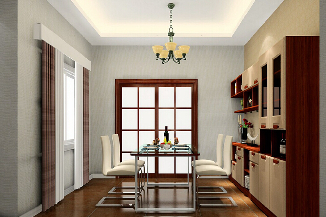 Classic Dining Room Chandelier And Ceiling LED Lighting
