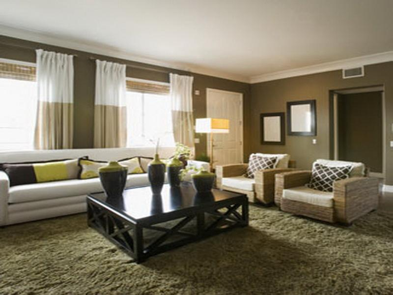 Featured Image of Contemporary Living Room Accent Wall