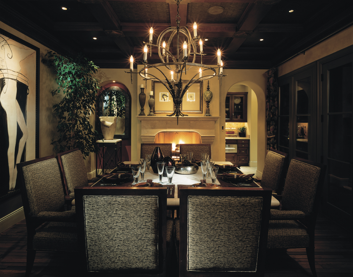 Featured Image of Dining Room Lighting Design For Romantic Nuance