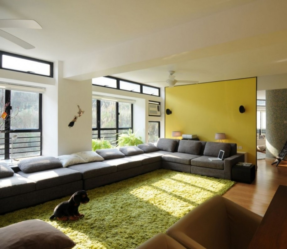 Featured Image of Green And Yellow Decor Theme For Apartment