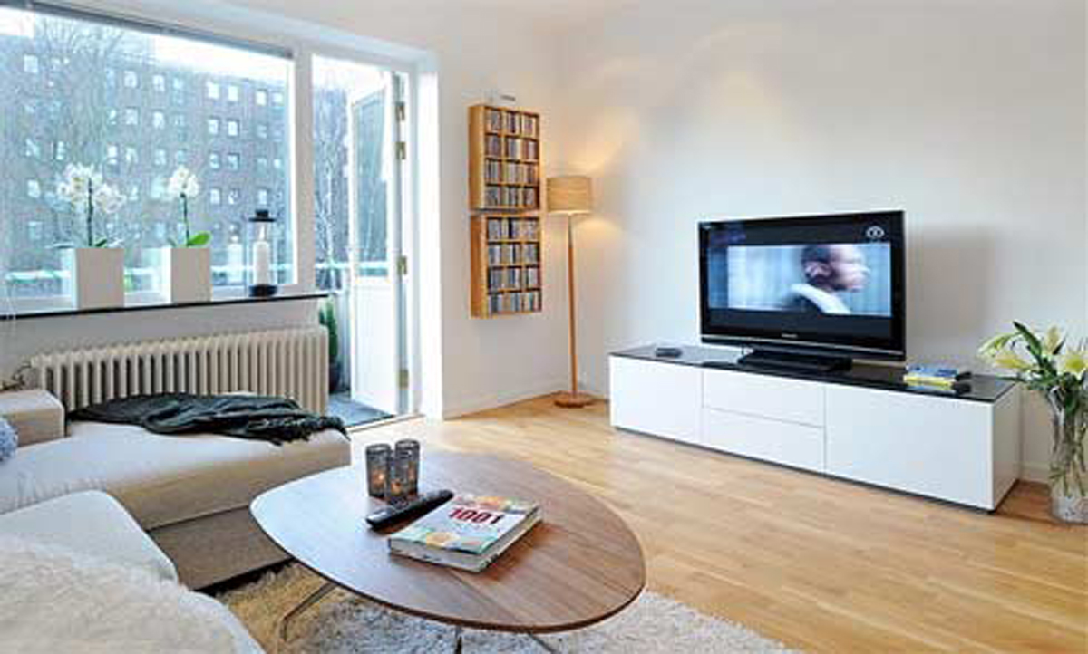 Featured Image of Minimalist Decoration For Small Apartment Living Room