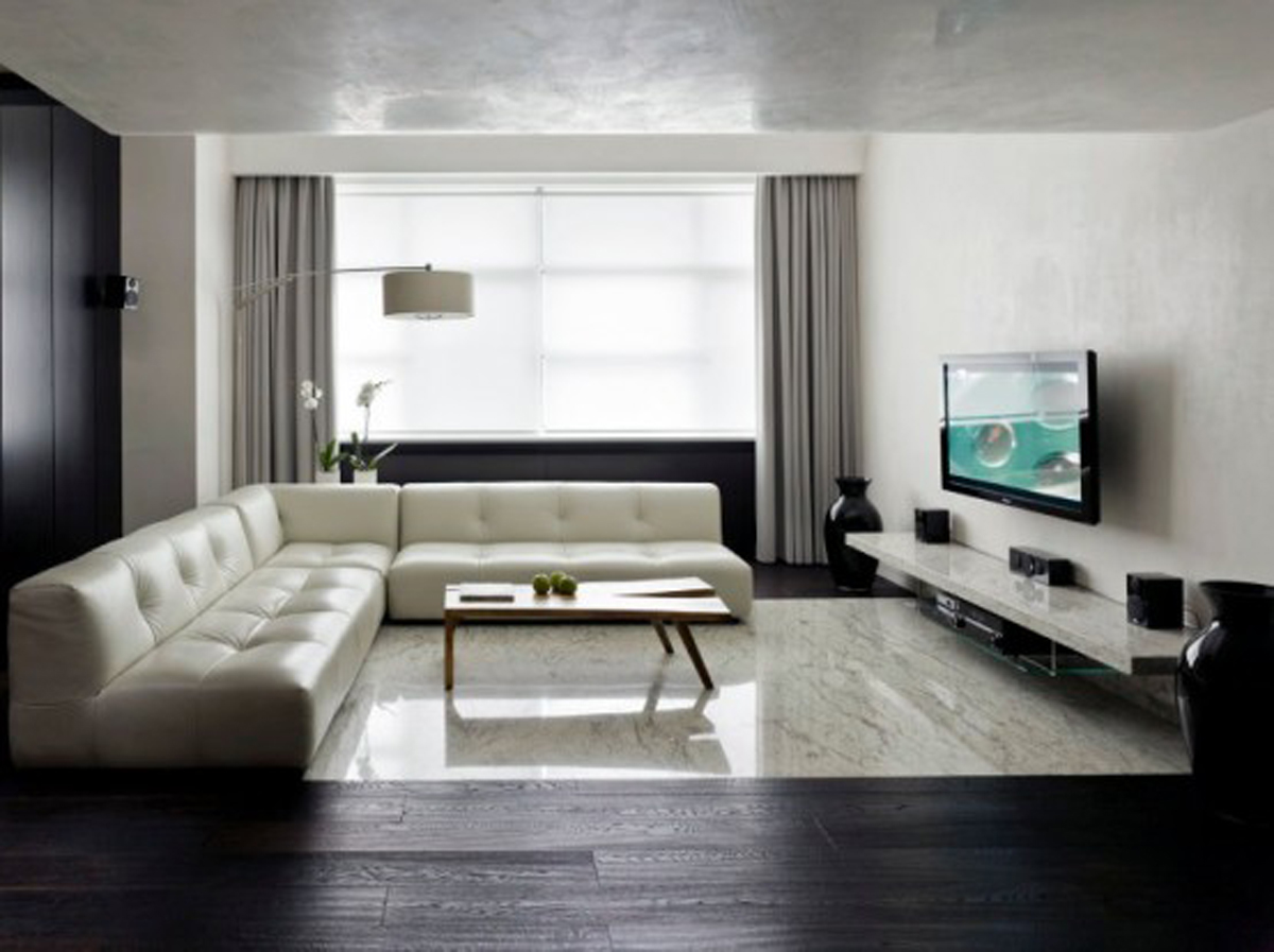 Featured Image of Modern Contemporary Apartment Sofa And TV Cabinet