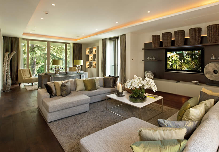 Featured Image Of Stylish Modern Luxury Living Area