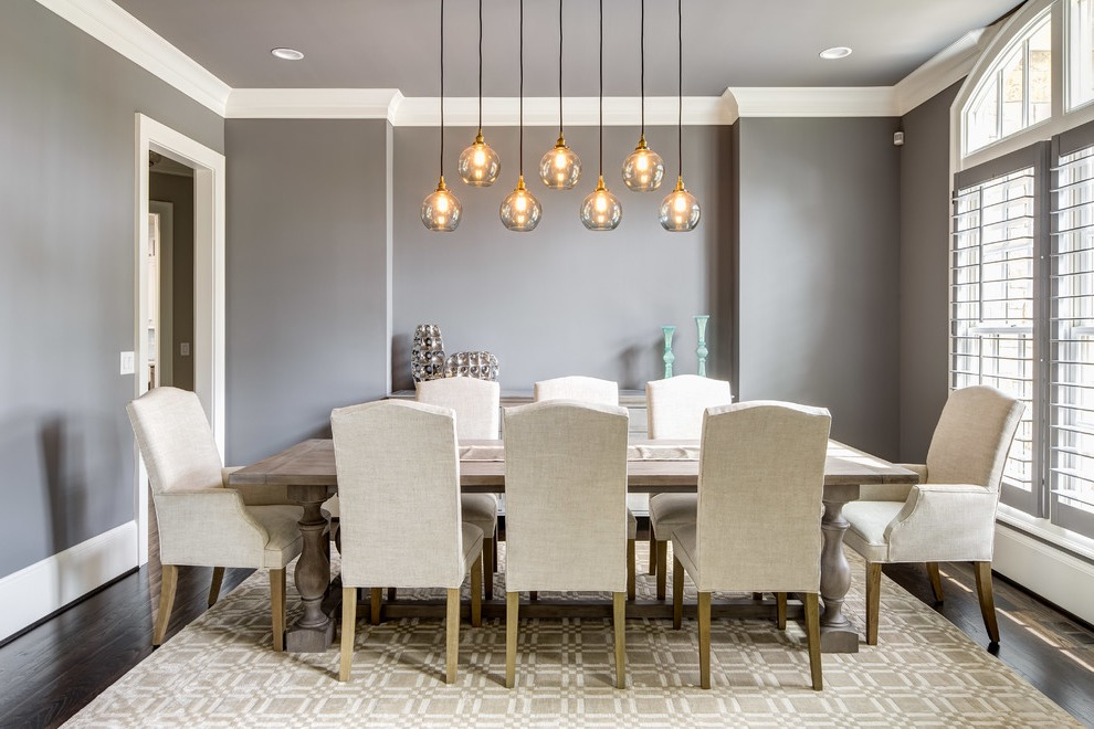 Modern Light Fixture For Formal Dining Room Decoration (Image 26 of 30)