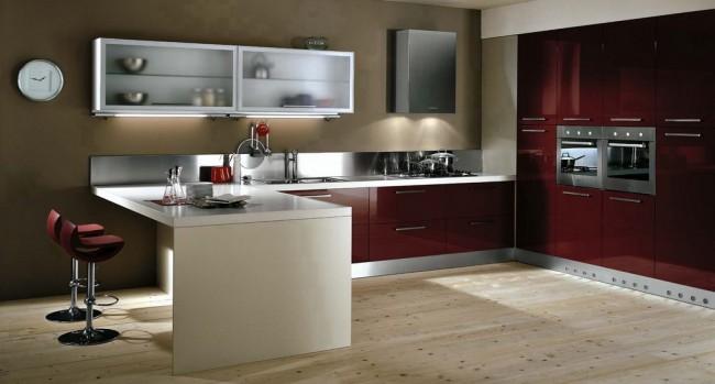 Featured Image of 2013 Burgundy Kitchen Design Ideas