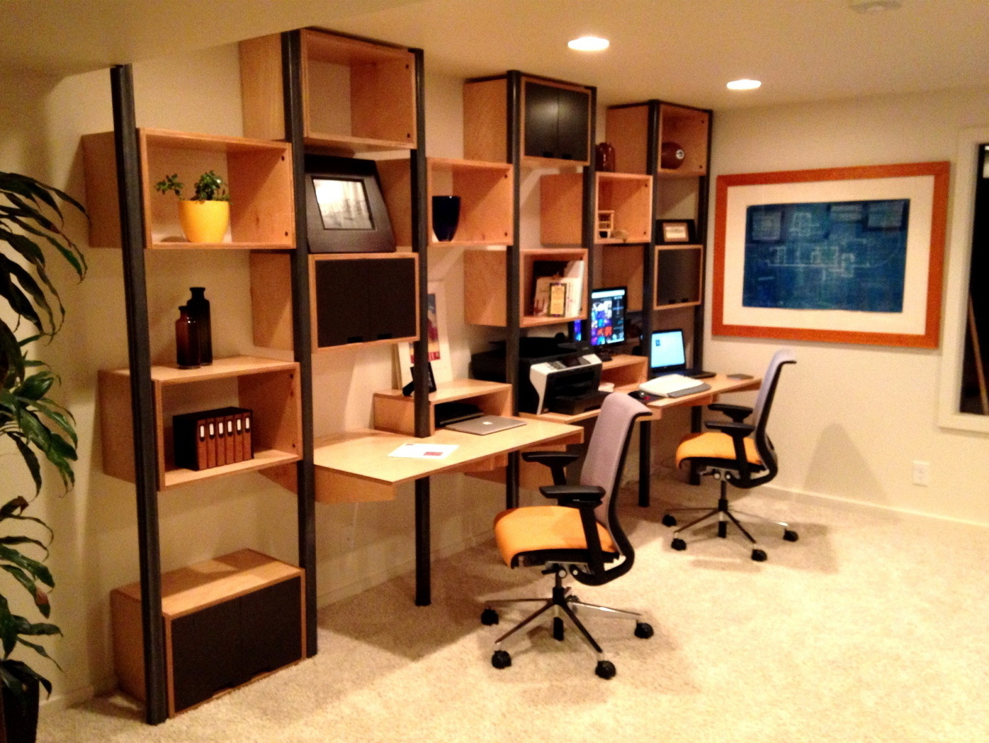 Featured Image of 2014 Modular Workstations Home Office