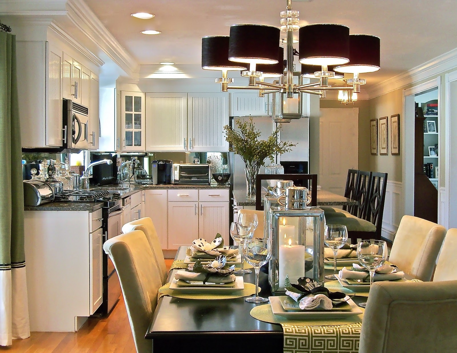 Featured Image of Admirable Dining Room And Kitchen Interior Combination