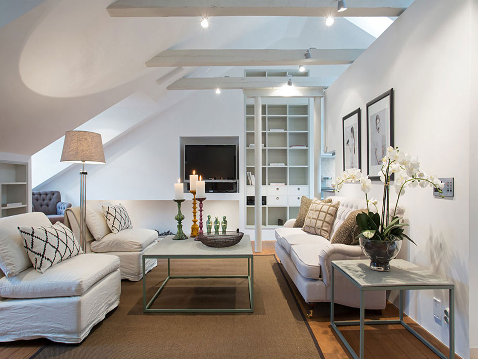 Featured Image of Artistic Attic Living Room Remodel And Decor