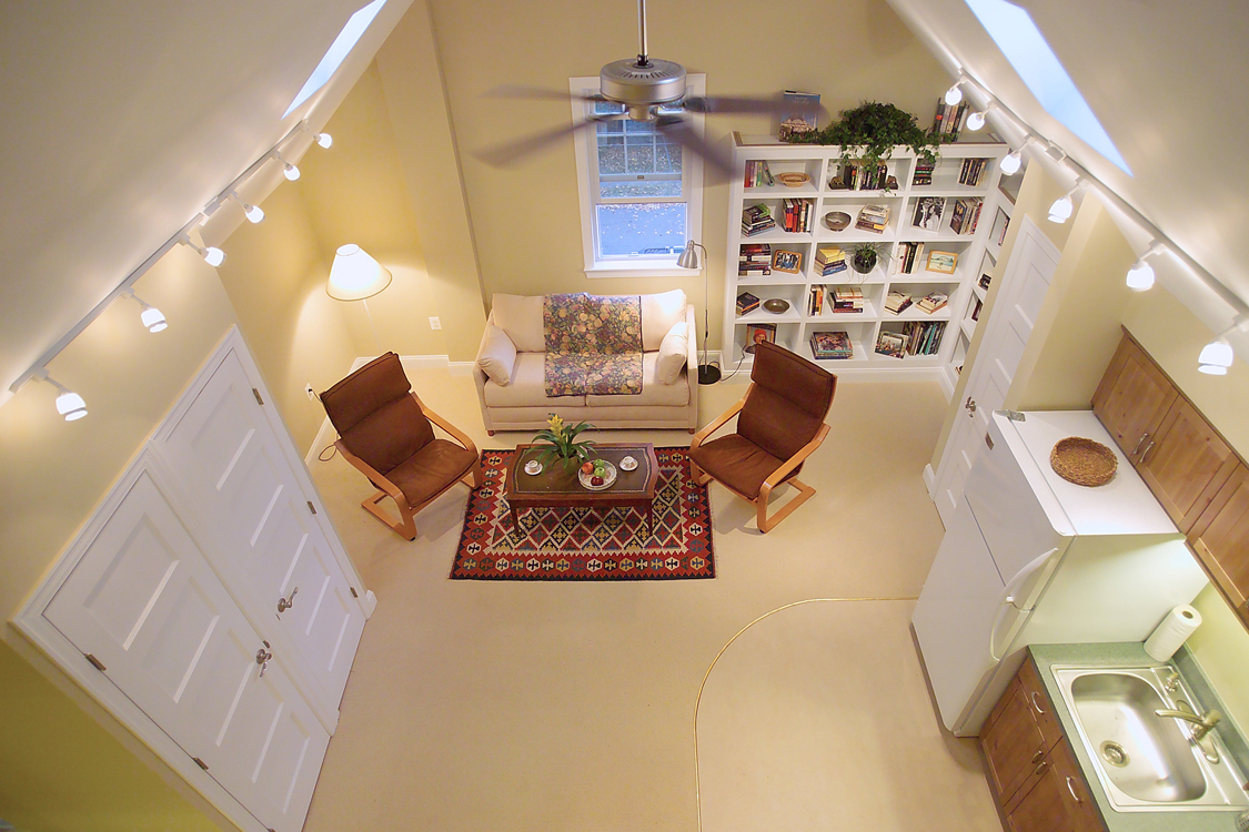 Featured Image of Attic Living Room Remodel And Furniture Decor