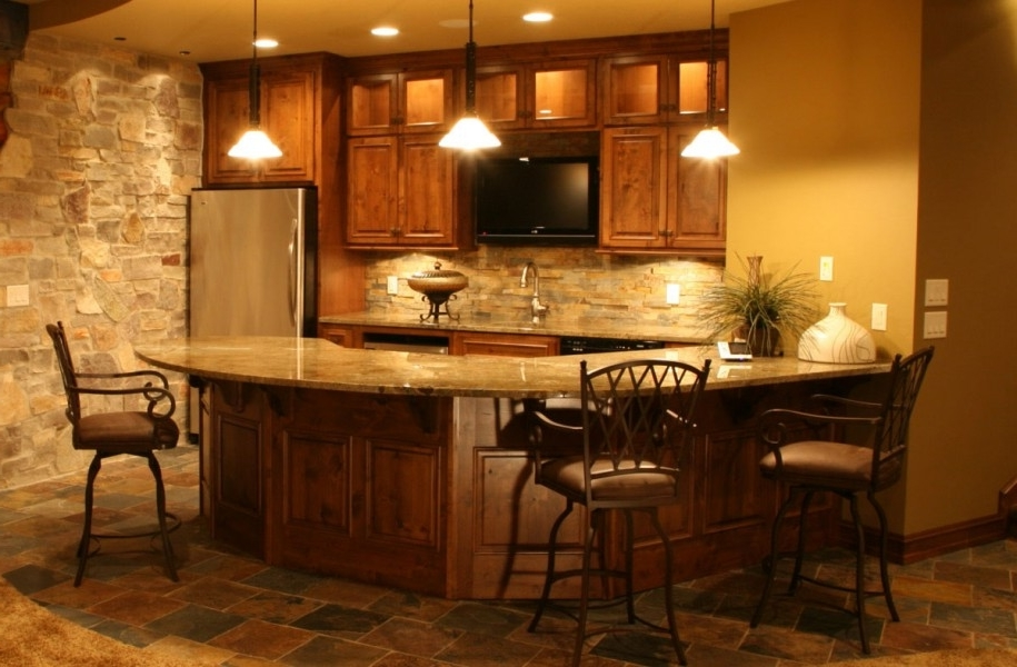 Featured Image of Basement Design Ideas To Traditional Kitchen