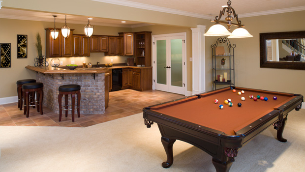 Featured Image of Basement Remodel To Playroom And Kitchen Combo