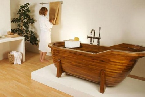 Featured Image of Bathroom Wood House Interior