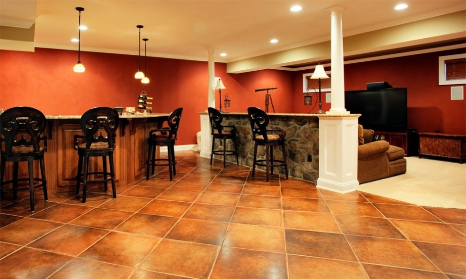 Beautiful Basement Remodeling To Kitchen And Living Room