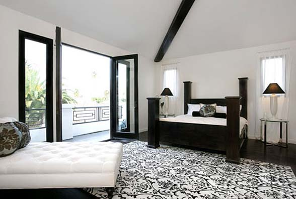 Featured Image of Beautiful Black White Bedroom Design Ideas