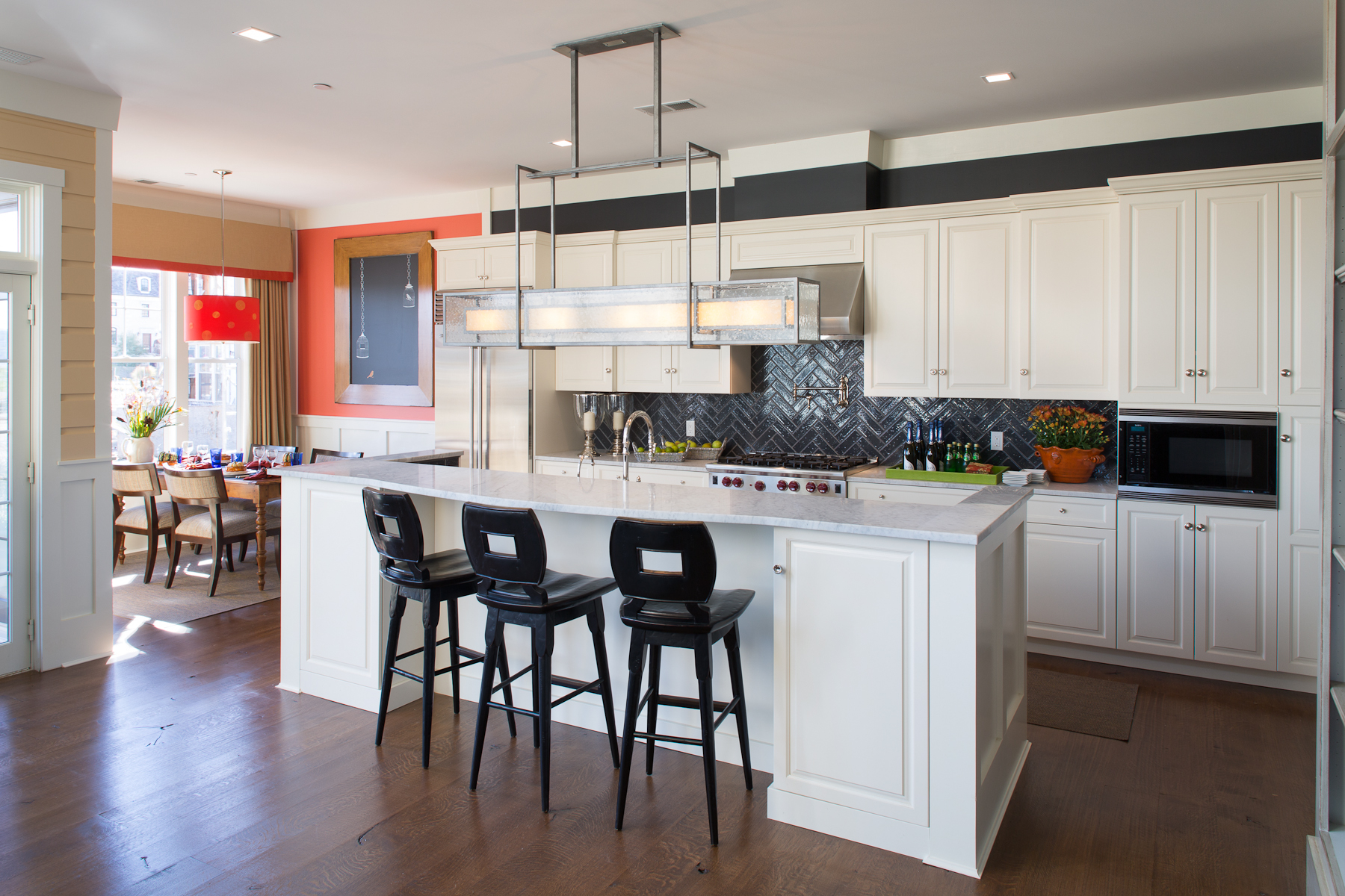 Featured Image of Beauty American Kitchen In Urban Style