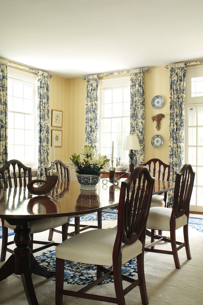 Featured Image of Beauty Nautical Dining Room Curtain