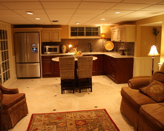 Featured Image of Best Basement Renovation To Tuscan Kitchen