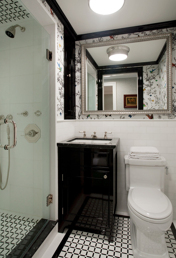 Featured Image of Best Classic Small Bathroom With Shower
