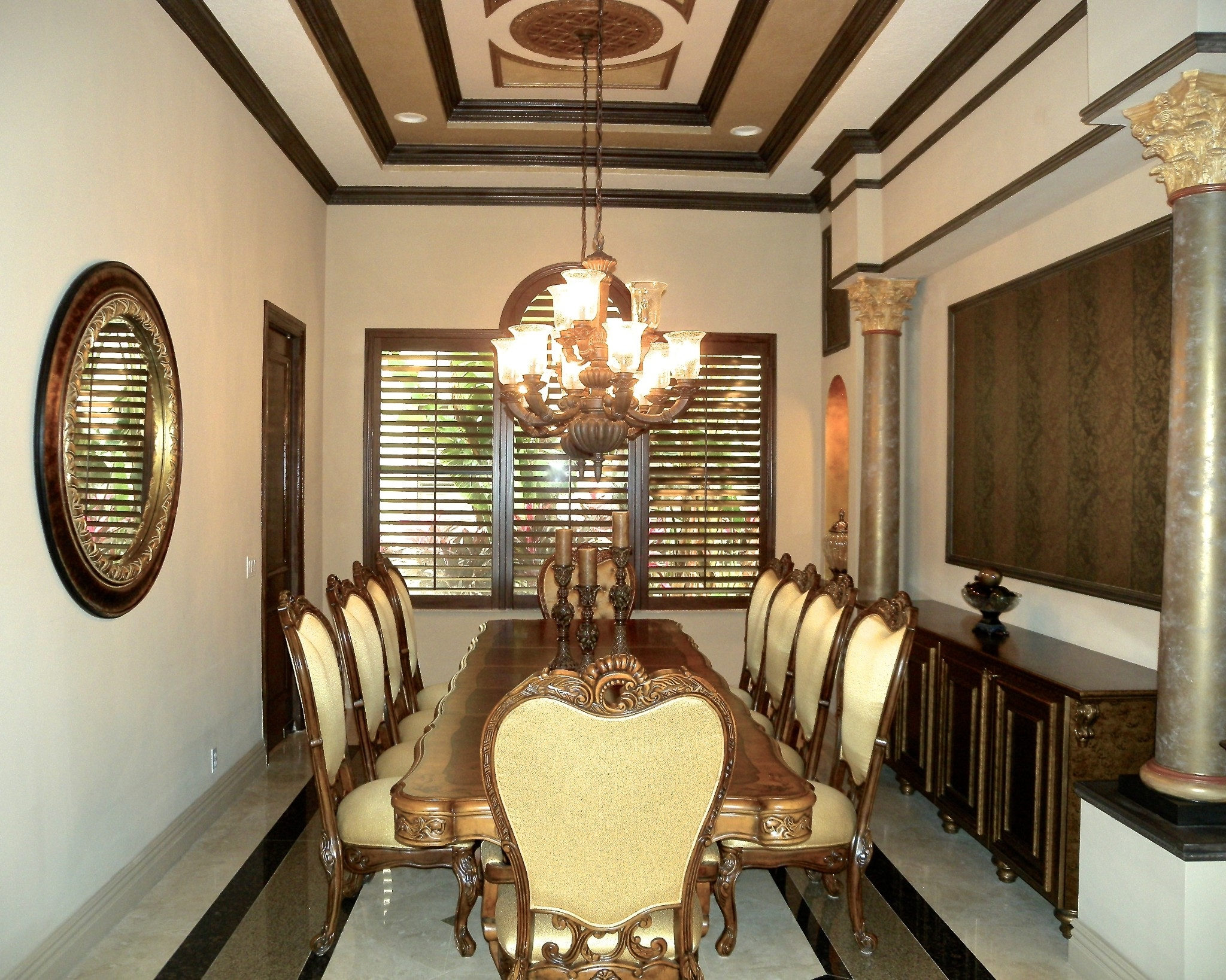 Featured Image of Best European Style Dining Room Luxury Design