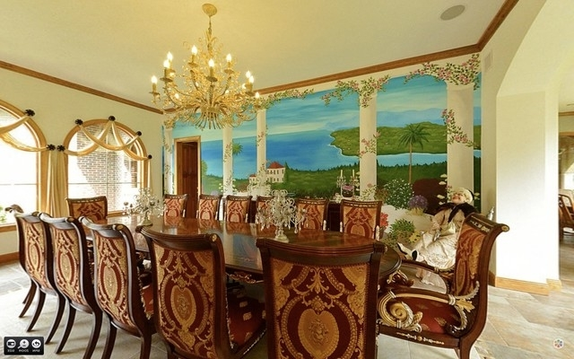 Best italian dining room wall decor 8439 house for Italian dining room decorating ideas