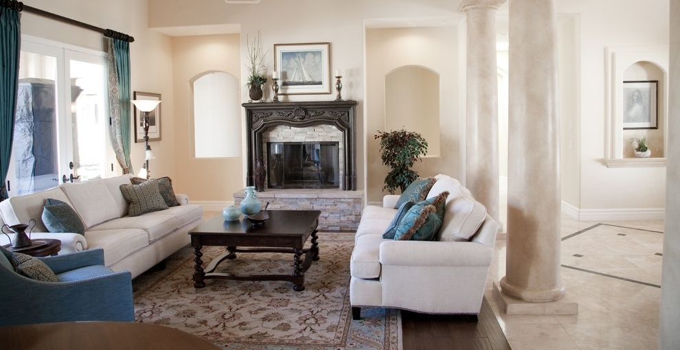 Featured Image of Best Italian Living Room Architecture With Fireplace