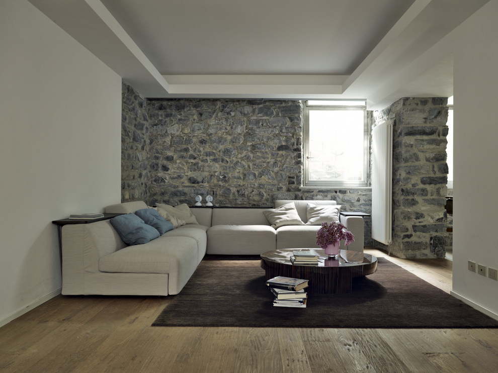 Featured Image of Best Living Room Interior With Stone Wall