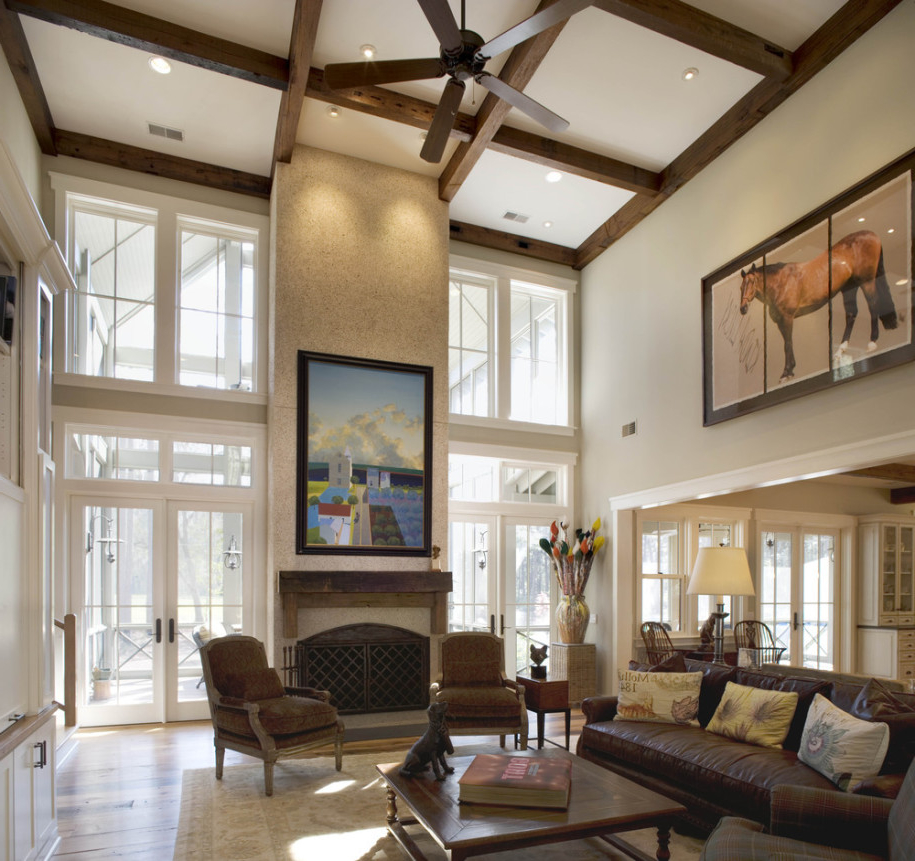 Featured Image of Best Living Room With Vaulted Ceiling