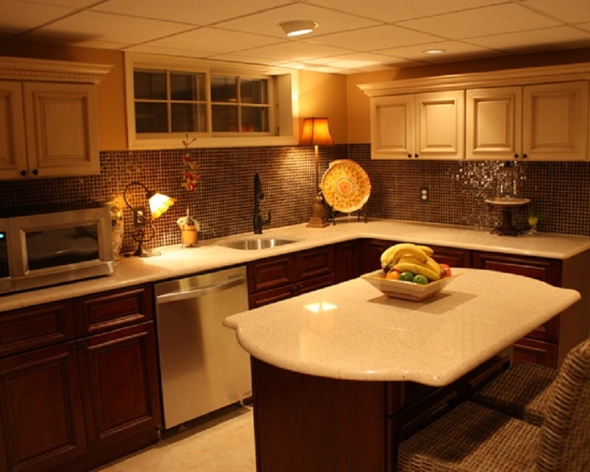 Featured Image of Best Small Kitchen Decor In The Basement