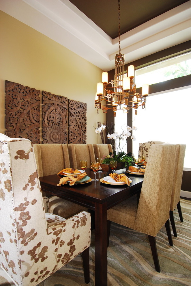 Featured Image of Best Wooden Wall Ornament For Dining Room