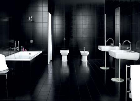 Featured Image of Black White Bathroom Furniture Ideas